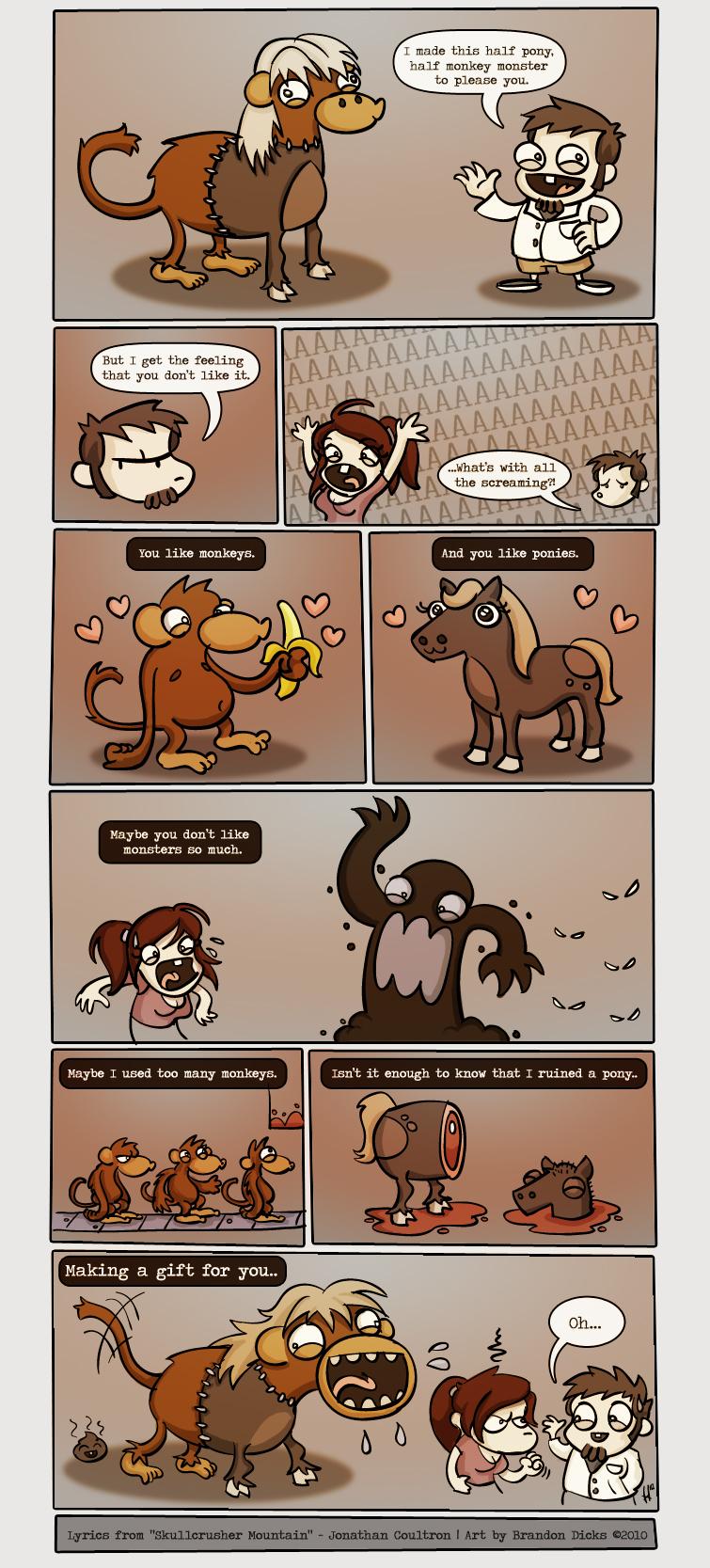 Half Pony Half Monkey
